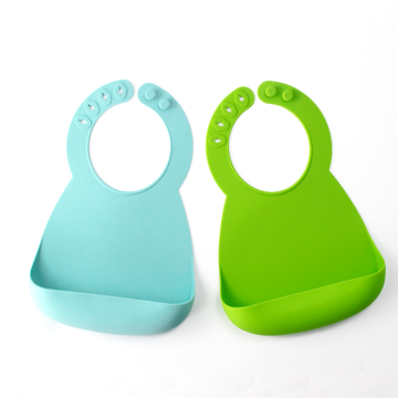 Waterproof Soft Silicone Baby Feeding Bibs