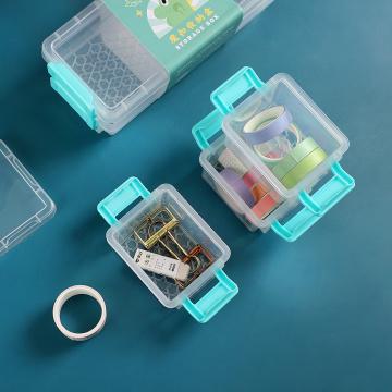 Double layer pencil case high-capacity Creative Pencil box Small fresh magic cute desktop Storage Box School supplies