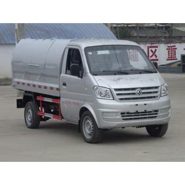 Dongfeng Gasoline 3CBM Small Sealed Garbage Truck