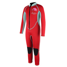 Seaskin Small Red  type Sea Diving Wetsuit