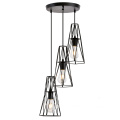 Metal Mesh Shade Pendant Light with 3 lamps