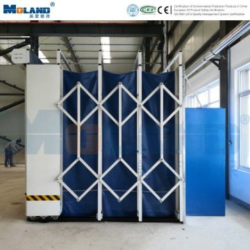 Modular Cabinet Dust Collector Telescopic Grinding Room