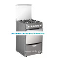 Freestanding Gas Stove Wth Oven Stainless Steel