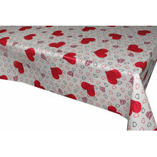 Pvc Printed fitted table covers Tablecloths and Napkins