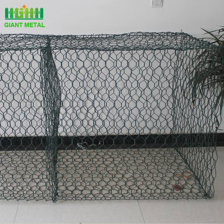 Hexagonal wire gabions basket with factory price