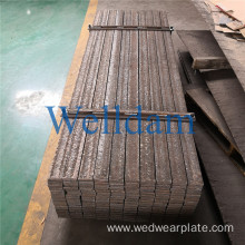 Bending CCO wear plate rod