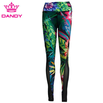 Dye Sublimation Yoga Training Pants