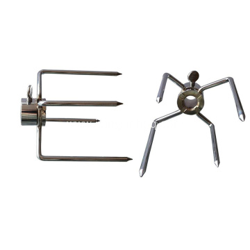 Stainless Steel Forks for Grilling Chicken