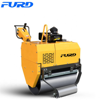 510kg Portable Single Steel Wheel Vibratory Road Roller