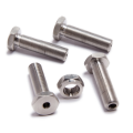 Hex Nut Bolt Set Hollow Bolt With Hole