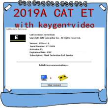 For Caterpillar 2019 Cat ET ET3 Electronic Technician Diagnostic Software with Unlock KeyGen Active + Video