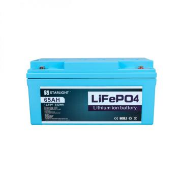 12.8V 65AH LiFePO4 Battery to Replace Lead-Acid Battery