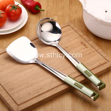 Featured Stainless Steel Spatula Pot Spoon