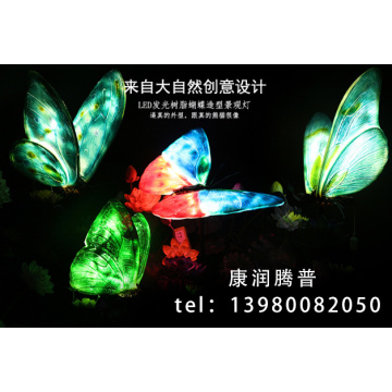 Led Simulation Butterfly Modeling Lights