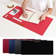 1pcs Mice Pad Office Computer Desk Mat Extra Large Mouse Felt Modern Non-woven Mouse Pad Keyboard Pad Laptop Cushion Desk Pads