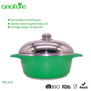 Stainless Steel Die Casting Kitchen Cookware Sauce Pot