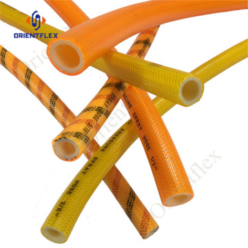 flexible plastic water braided reinforced spray hose