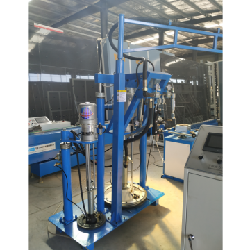 Insulating Glass Silicone Glue Sealant Spreading Machine