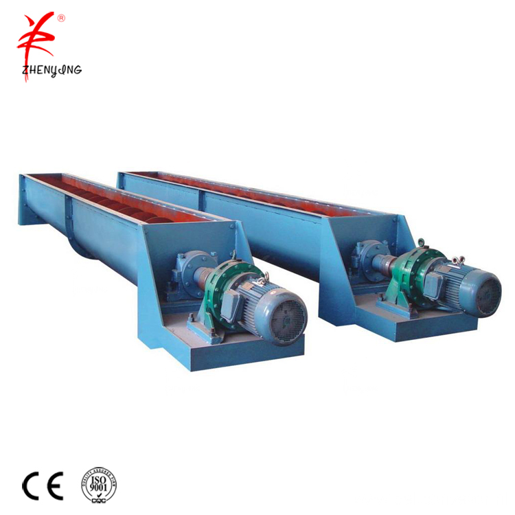 Shaftless sand screw conveyor machine
