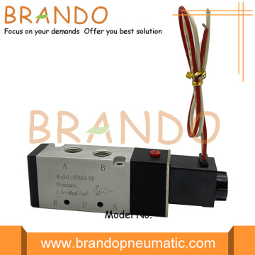 4V310-08 Pneumatic Single Electrical Control Solenoid Valve