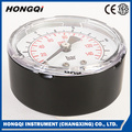 "2.5"" 63mm back Black Steel Case Pressure Gauge"