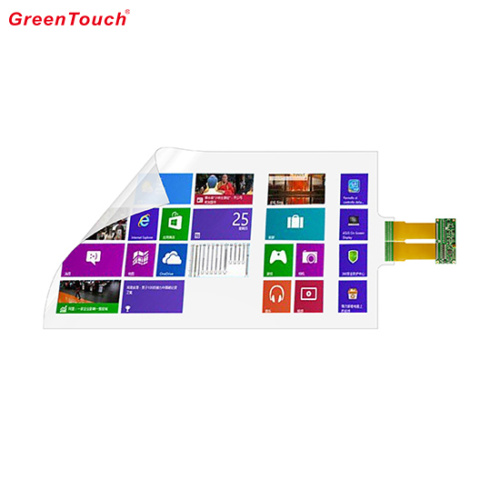 55 Inch Interactive Touch Foil Transparent Film