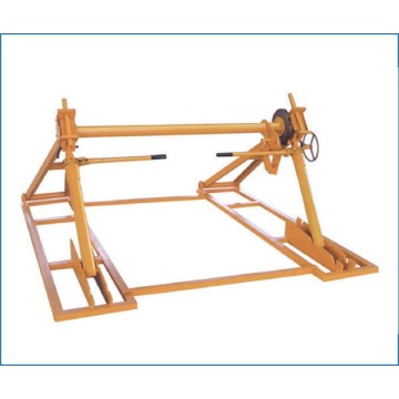 Mechanical Rack Cable Reel Pay-off Stand For Cable