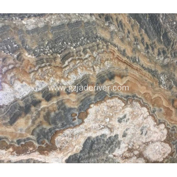 Grey Quality Natural Onyx Stone Onyx Wall Panel