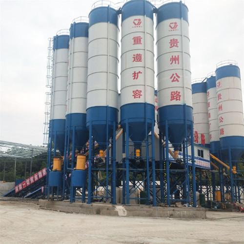 Stationary Uganda concrete batching plant for sale
