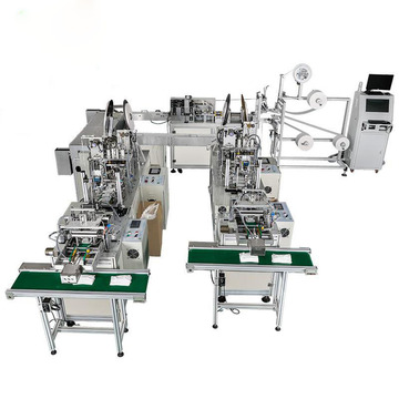 Fully Automatic 3ply Medical Face Mask Machine