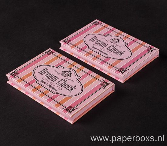 Custom Printed Paper Cardboard Eyeshadow Palette Box