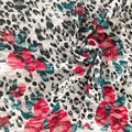 Leopard Print Polyester  Lace