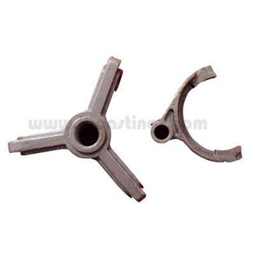 Investment Casting Lost Wax Casting Steel Fan Parts