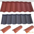 Color stone supply for stone coated roofing tile production line
