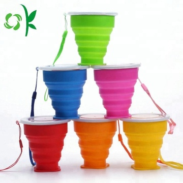 Outdoor Portable Drinking Silicone Folding Cup