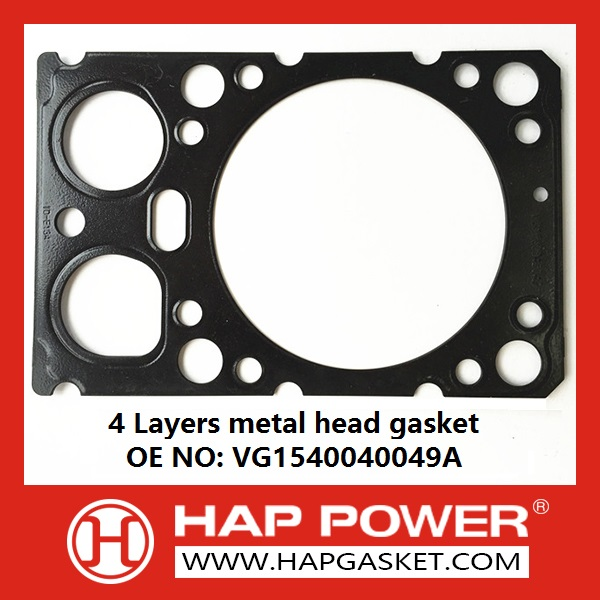 HAP-HD-020 4 Layers metal head gasket VG1540040049A126