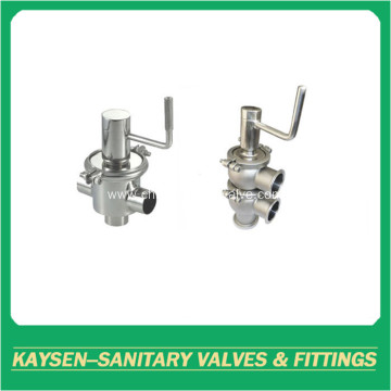 Sanitary manual mixproof valves