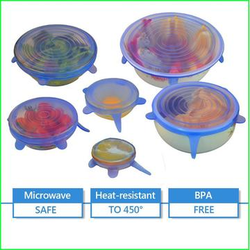 High Quality Food Grade Silicone Cup Lid