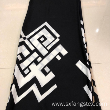 Customized 100% Polyester Nida Printed African Abaya Fabric