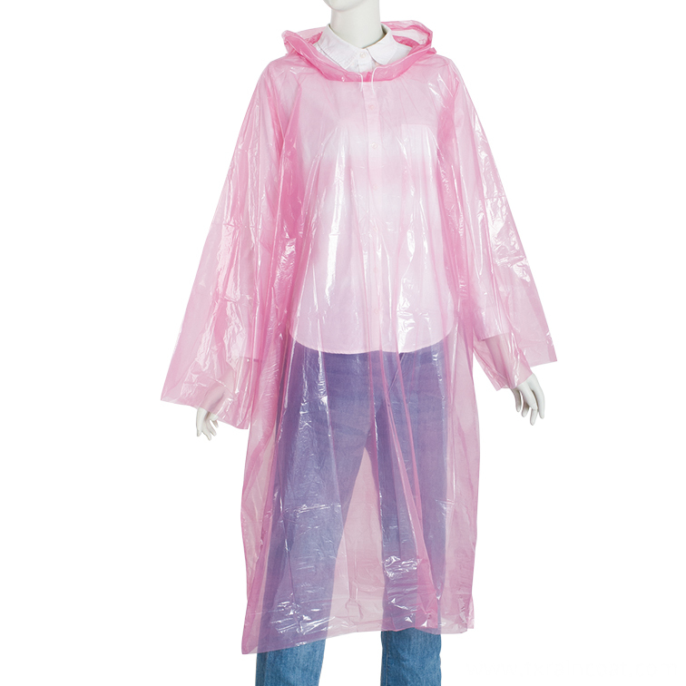 disposable pullover raincoat