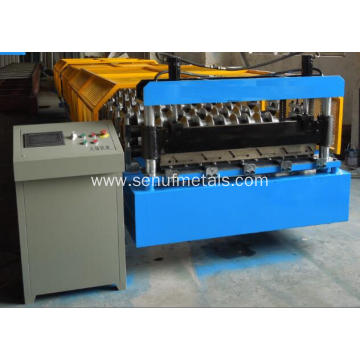 New heavy metal roof trapezoid tile forming machine