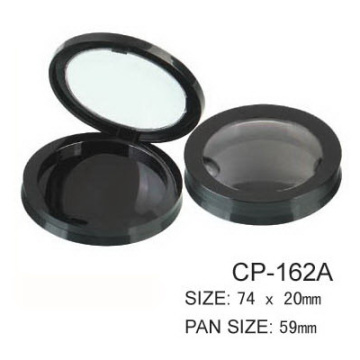 Round Cosmetic Plastic Compact