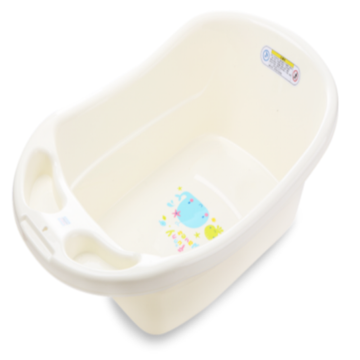 Infant Plastic Bath Tub Cleaning Bathtub Small Size
