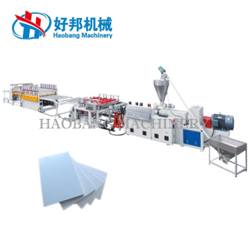 PVC Embossed Foam Board Production Plant