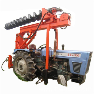 High duty Tractor Mounted Hole Rigs pile driver