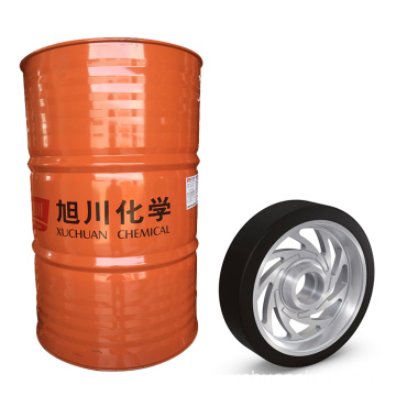 Aluminum pu low pressure cast wheels