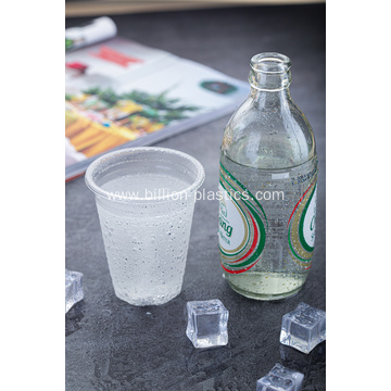 9OZ  Disposable PP Clear Plastic Cup