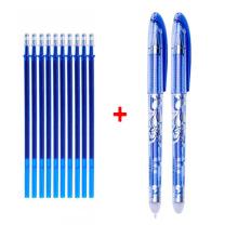 erasable gel pen blue black ink gel pen erasable refill erasable pen washable handle writing stationery gel pen