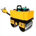 CE double drum walk behind vibratory road roller