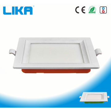18W PC Square Concealed Mounted Led Panel Light